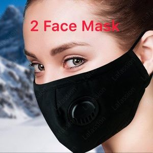 x2 Face mask for dust, outdoors festivals sports.